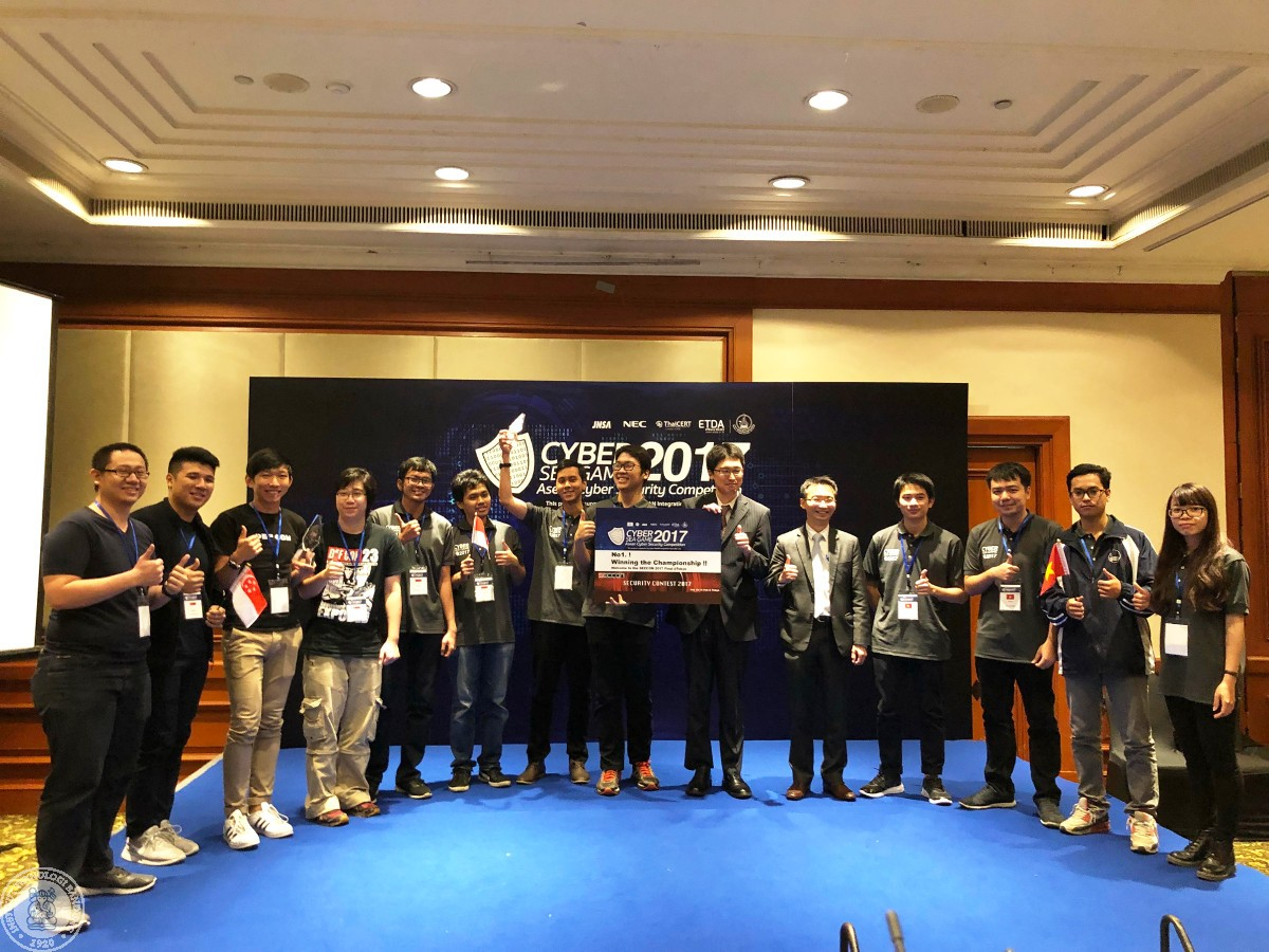 Three STEI Students Won First Place in Cyber South East Asian Game
